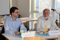 Rupert Appeltshauser (rechts) mit Philipp Dees