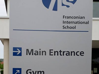 Besuch bei der Franconian International School