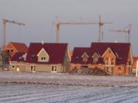 Blick auf das Neubaugebiet 408