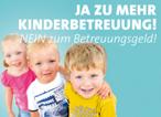 Ja zu Mehr Kinderbetreuung - Homepage der Massenpetition der SPD
