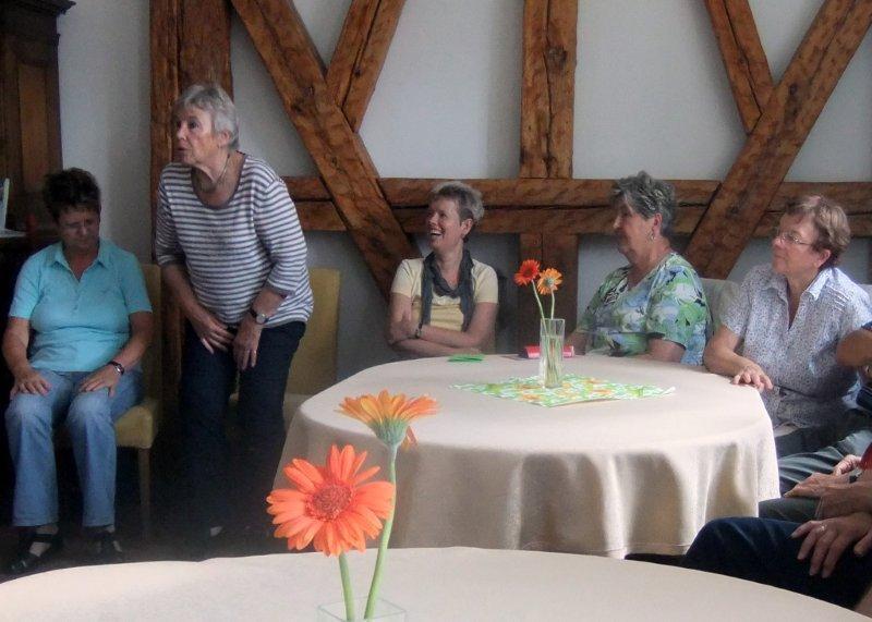 Gesprächsrunde im Haus Dreycedern