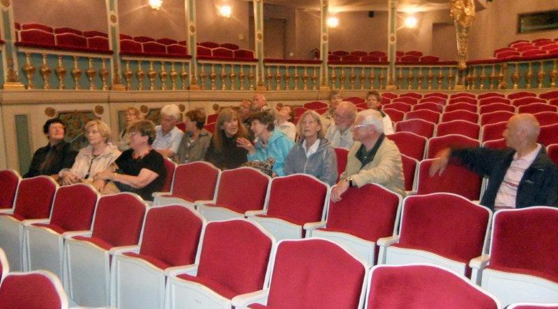 Blick ins Markgrafentheater