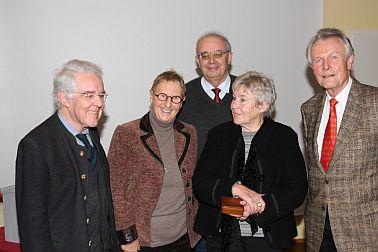 Verschiedene Personen mit Ursula Rechtenbacher