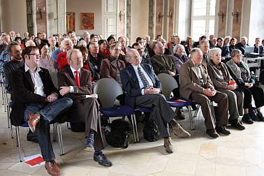 Blick auf die Zuhörer