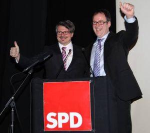 Nominierungsveranstaltung 23. Januar 2013: Dieter Rosner und Florian Janik