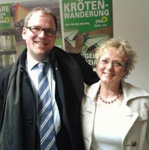 Unterstützt Florian Janik: Susanne Lender-Cassens, die Fraktionsvorsitzende der Grünen Liste.