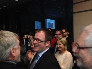 Florian Janik am Wahlabend