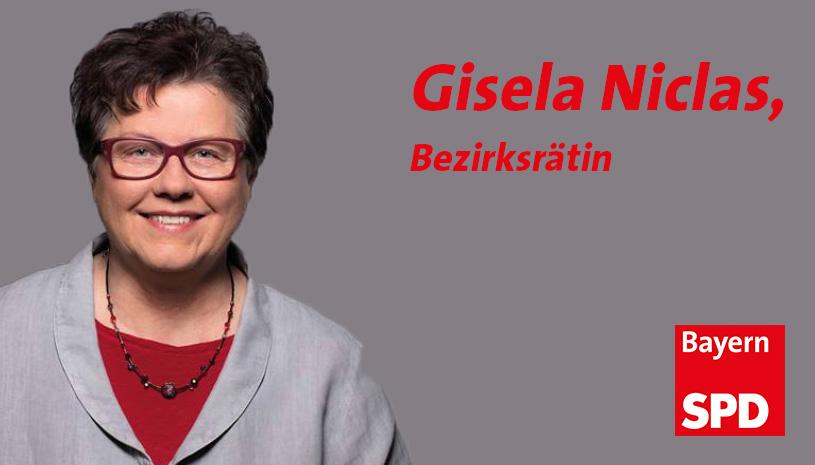 Zur Homepage von Bezirksrätin Gisela Niclas (Link öffnet in neuem Fenster)