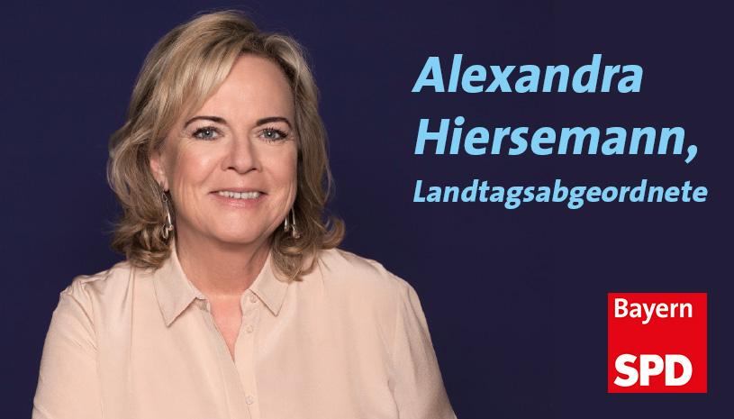Zur Homepage von Alexandra Hiersemann MdL, Zweitstimmen-Kandidatin im Stimmkreis Erlangen-Stadt