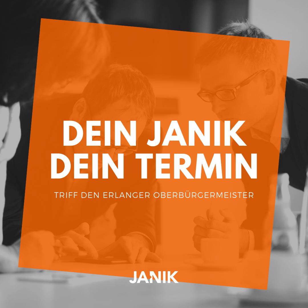 Homepage Dein Janik - Dein Termin aufrufen (Link öffnet in neuem Fenster)