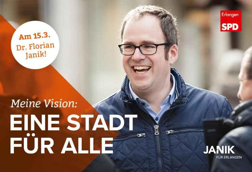 Zur homepage der SPD Erlangen zur Kommunalwahl