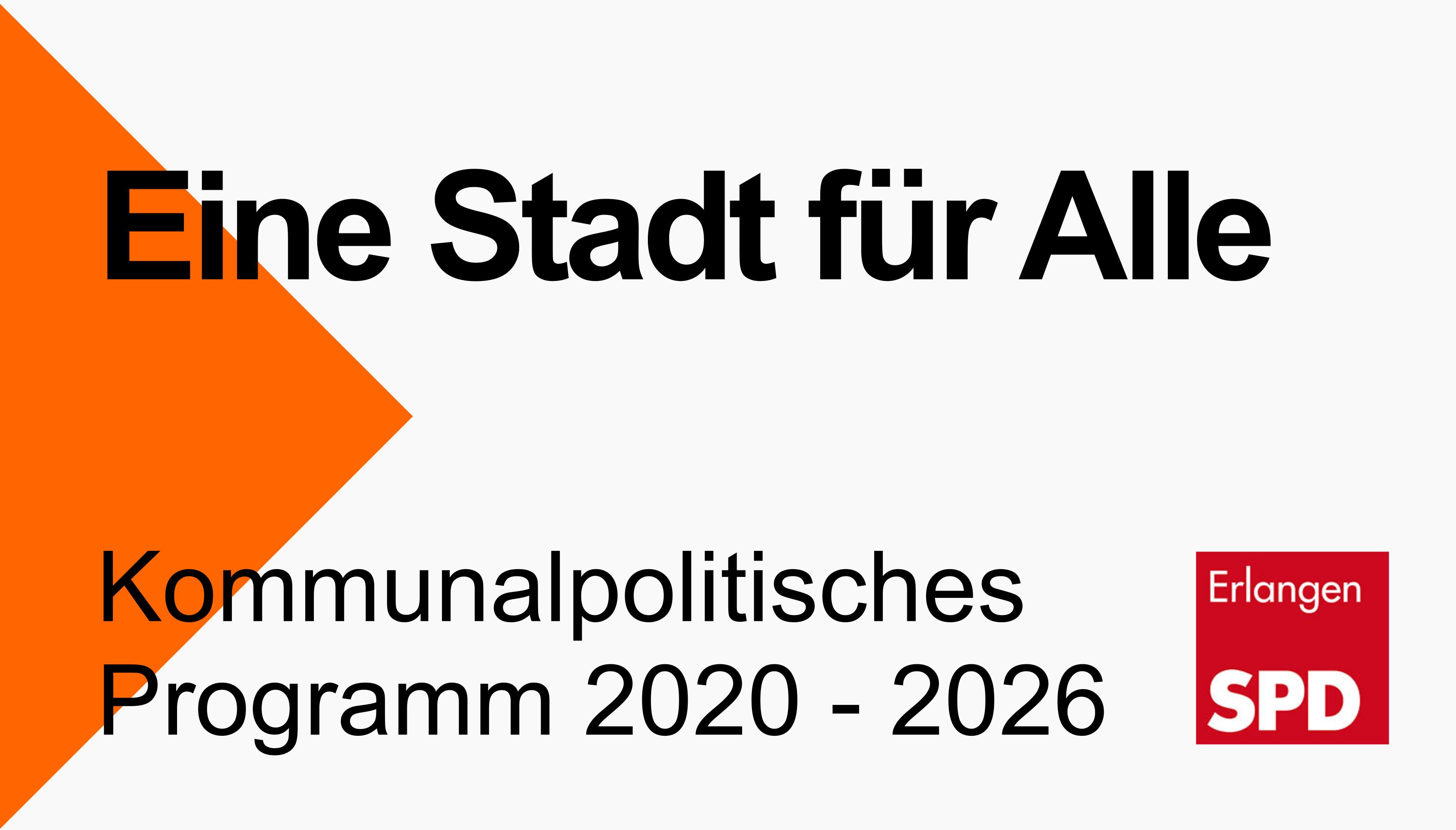 Kommunalpolitisches Programm 2020-2026 (Link öffnet in neuem Fenster)