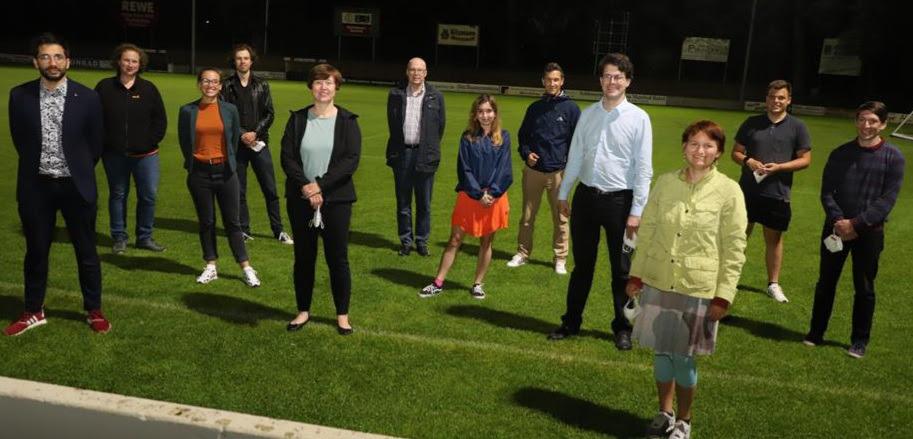 Gruppenbild des neuen Vorstands
